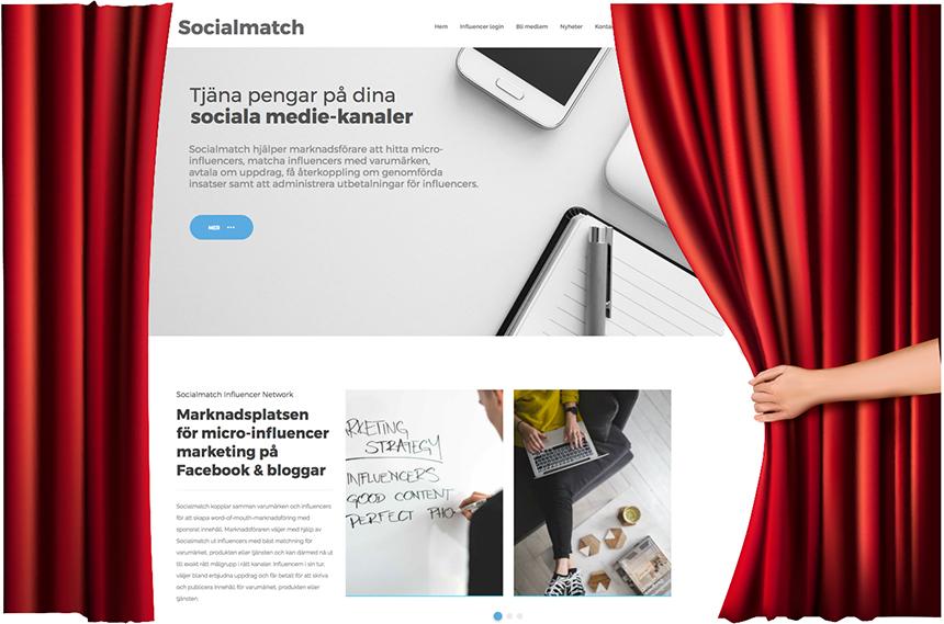 Nu lanseras socialmatch.se